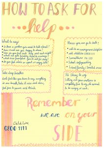 How to Ask For Help poster